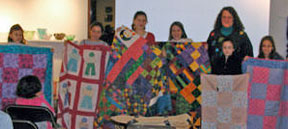 Group of quilters